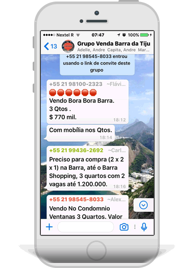 Grupos WhatsApp Local RJ